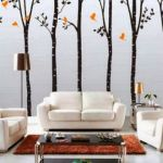 Contemporary Living Room Wall Decorations