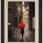 Red Umbrella Wall Art