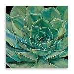 Charismatic 'Agave Flower' Wall Art