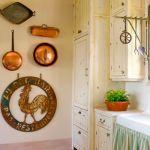 Vintage cookware wall art
