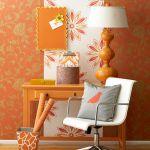 Creative wallpaper wall decoration