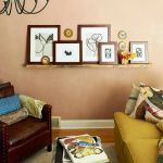 Gallery shelf wall decoration