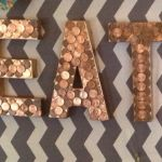 Penny wall art