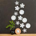 Origami Flower Wall Decor