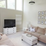 Beige Modern Living Room Wall Art