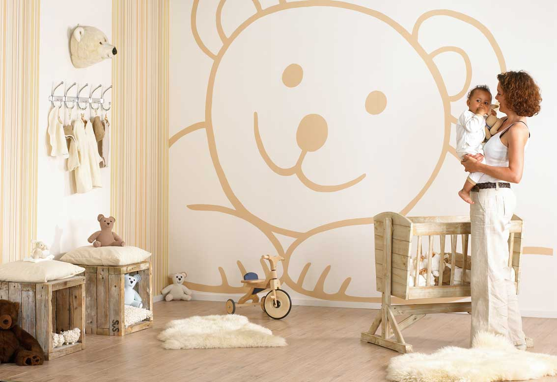 Cartoon wall decoration for kids room - Wall Decoration ...
