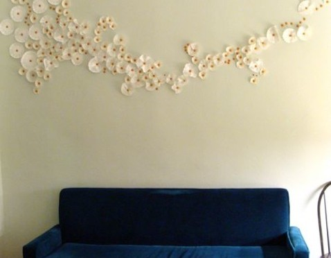 Coffee Filter Wall Decoration