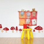 Cute kids room wall decoration