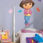 Dora kids room wall decoration