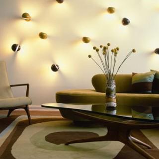 Fancy Lights wall decoration living room