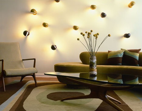 Fancy Lights Living Room Wall Decoration - Wall Decoration Pictures ...