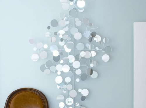 Funky Mirror wall art decoration living room