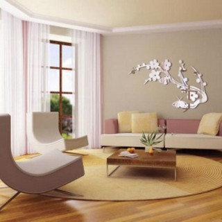 Reflective Decal Living room wall decoration
