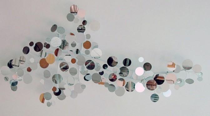 Stylish Mirror Wall Decoration