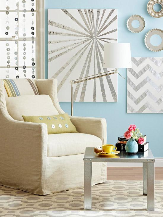 geometric wall decoration