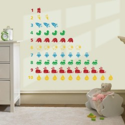 Activity wall decoration for kids room