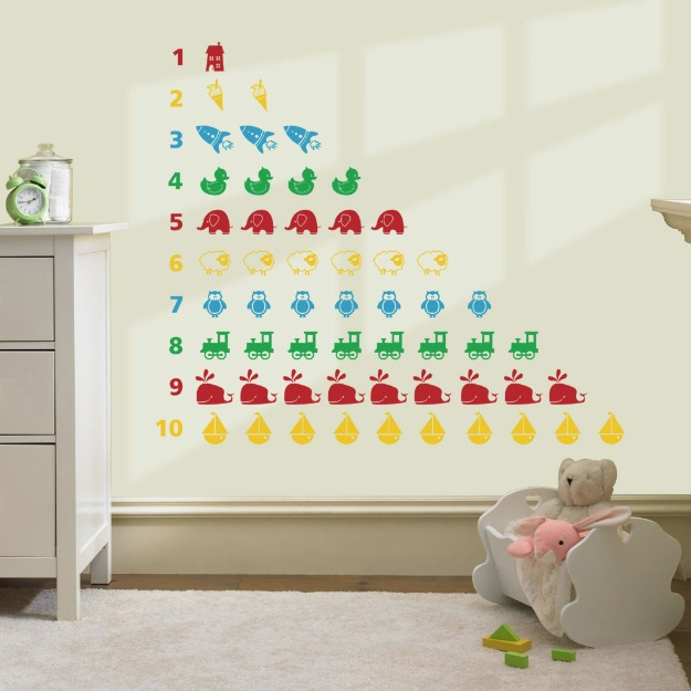 Activity wall decoration for kids room wall decoration for Activity room decoration