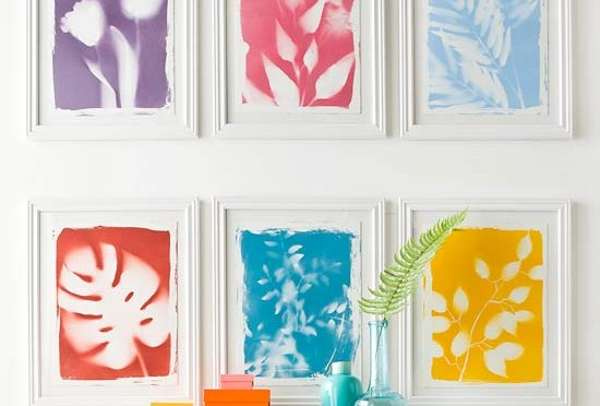 Botanical print wall art