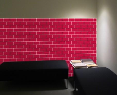 Bricks Foam Tiles wall art