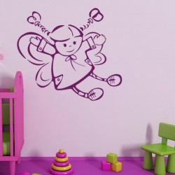 Cartoon wall decoration for kids room