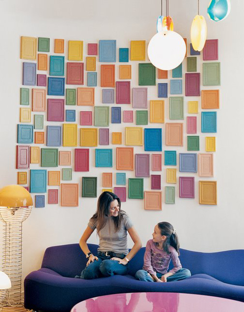 Colored Frame wall Decoration