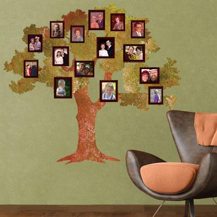 Family Tree wall decoration - Wall Decoration Pictures Wall ...