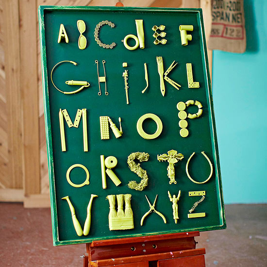 Letters Wall Art
