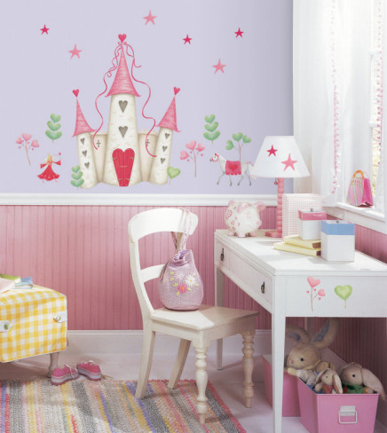 Princess Castle Wall Art