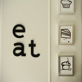 Simple Kitchen wall art