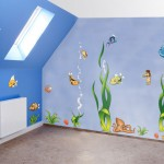 Underwater theme wall decoration