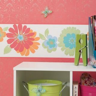 wall paper border wall art
