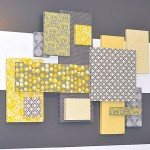 Abstract Fabric wall decoration