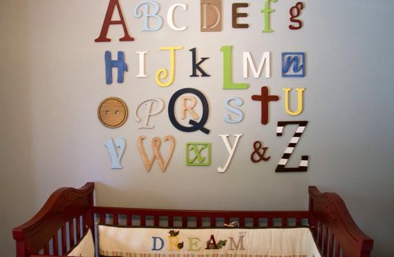 Alphabet Wall Art