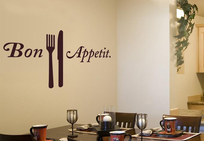 Bon Appetit wall art
