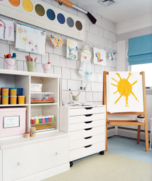 Kids room wall art gallery