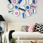 Paint plate wall art