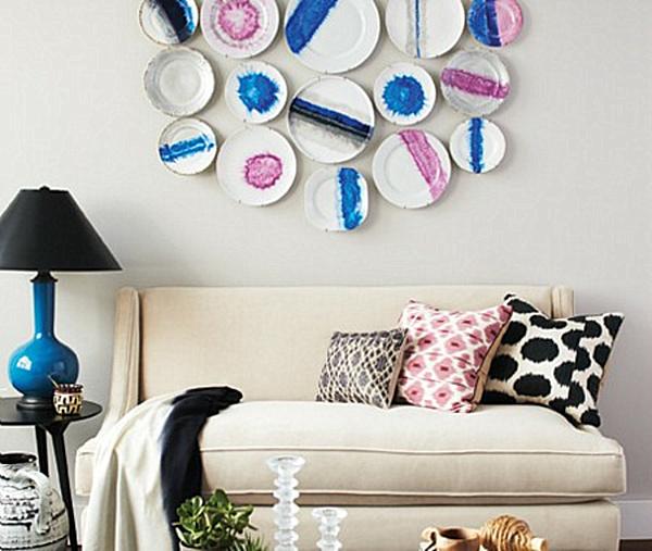 Paint plate wall art