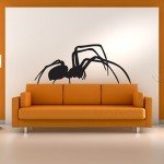 Spider wall art