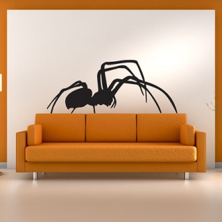 Spider wall art