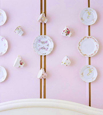 Tea Set wall decoration