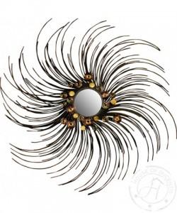 Modern Spiral Mirror