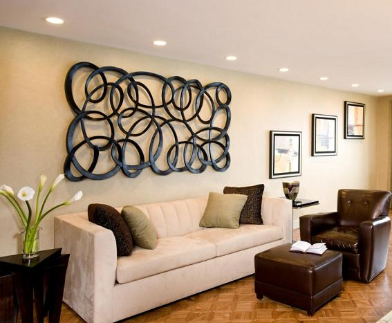 Elegant Contemporary Hanging Sculpture For Living Room