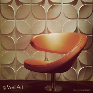 Redesign your walls using 3D wall murals