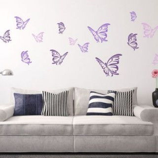 Redecorate your walls with variable wall stickers