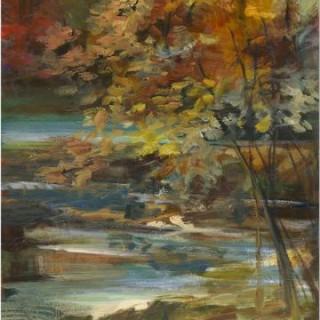 Aesthetic landscape wall art