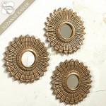Vintage Sunburst Mirrors
