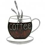 Coffee Metal Wall Plaque