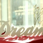 Dream Typography Wall Hanging
