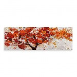 'Red Embellished Autumn Tree'