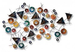 Geometrical design wall art